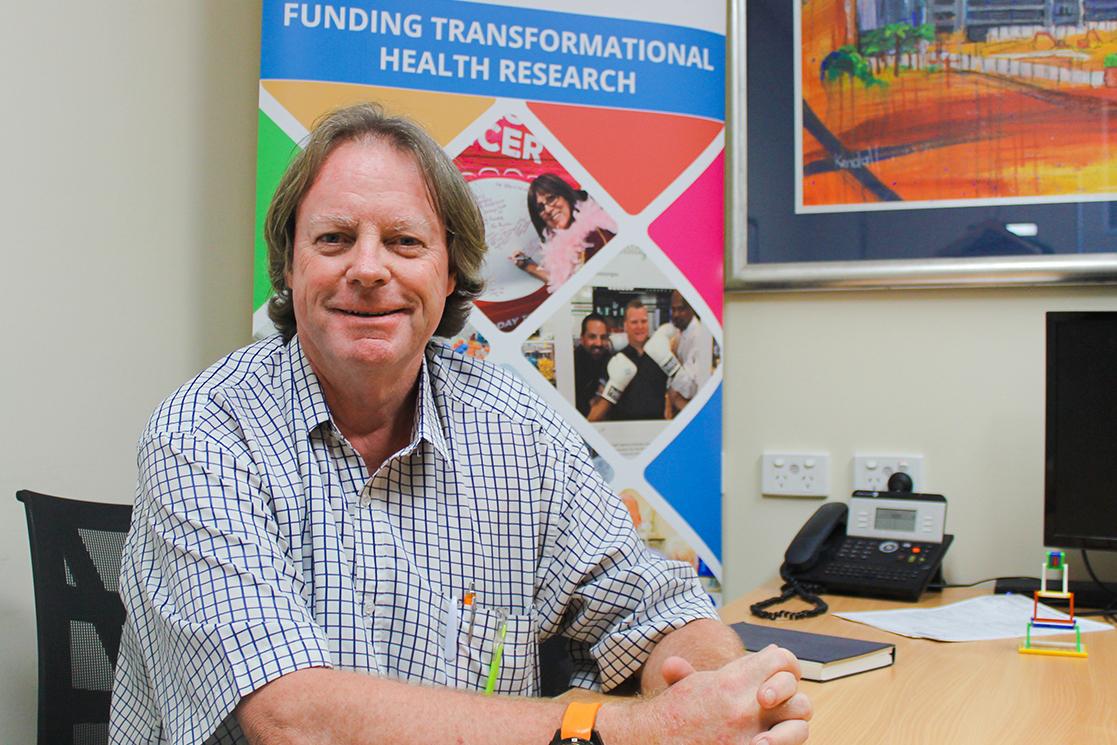 Ken Burston, prostate cancer clinical nursing consultant.