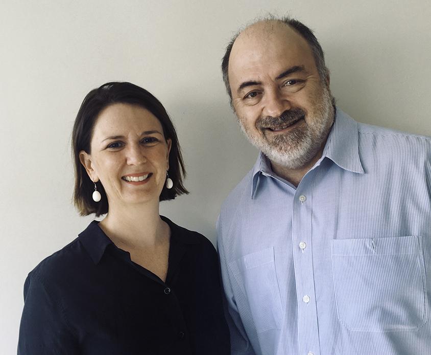 Dr Ingrid Hickman & Dr Graeme Macdonald