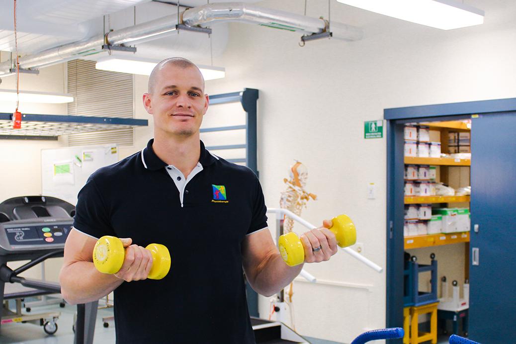 Richard Modderman, Physiotherapist